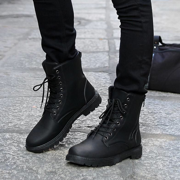 Giày boot nam Combat