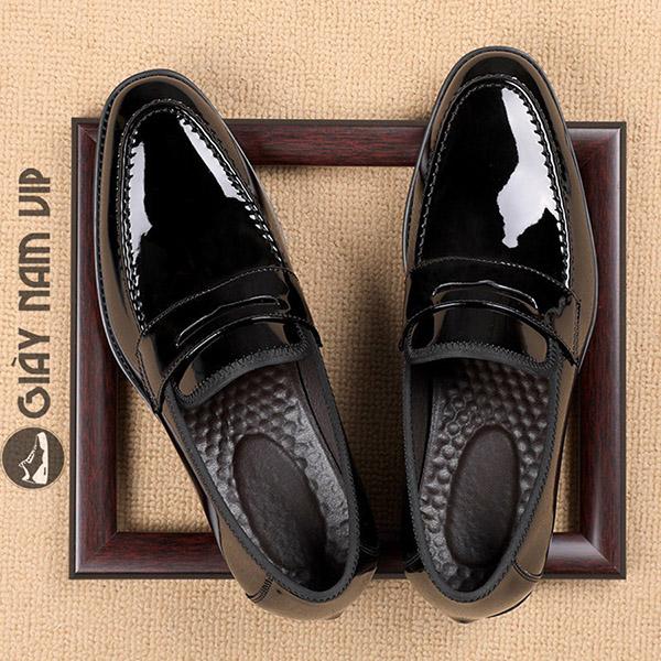 Giày lười da nam