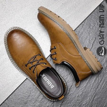 Giày da bò nam cao cấp thời thượng chuẩn men