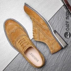 Giày da lộn nam hàng hiệu sang chảnh đẳng cấp phái mạnh
