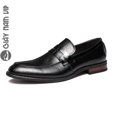 Giày lười nam penny loafer đế phíp sang trọng lịch sự
