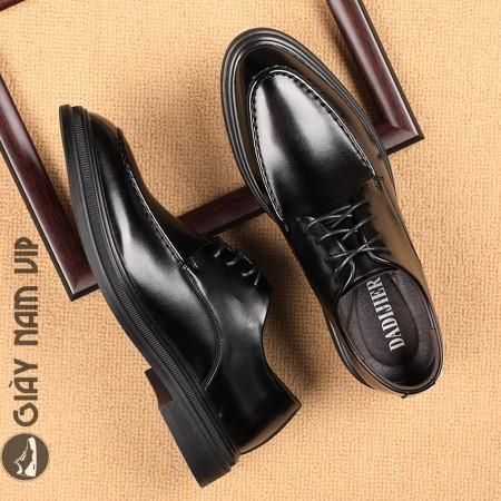 Giày nam hàng hiệu da trơn đẳng cấp phái mạnh